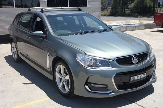 Used Holden Commodore VF II MY16 SV6 Sportwagon Maryville, 2016 Holden Commodore VF II MY16 SV6 Sportwagon Silver 6 Speed Sports Automatic Wagon