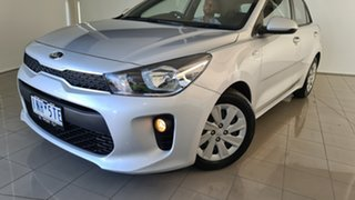 2018 Kia Rio YB MY18 S Silver, Chrome 4 Speed Sports Automatic Hatchback.