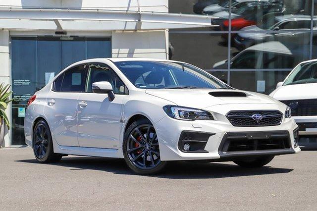 Used Subaru WRX V1 MY18 Premium Lineartronic AWD Sutherland, 2017 Subaru WRX V1 MY18 Premium Lineartronic AWD White 8 Speed Constant Variable Sedan