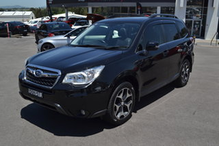 2014 Subaru Forester S4 MY14 2.5i-S Lineartronic AWD Black 6 Speed Constant Variable Wagon.