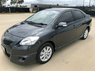 2015 Toyota Yaris NCP93R YRX Grey Automatic Sedan
