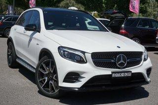 2018 Mercedes-Benz GLC-Class X253 808MY GLC43 AMG 9G-Tronic 4MATIC White 9 Speed Sports Automatic.