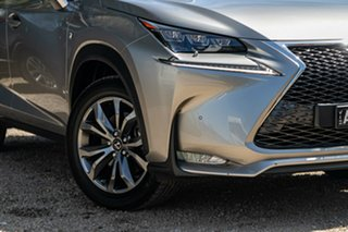 2017 Lexus NX AGZ15R NX200t AWD F Sport Grey 6 Speed Sports Automatic Wagon.