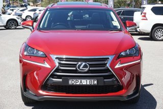 2017 Lexus NX AGZ10R NX200t 2WD Luxury Red 6 Speed Sports Automatic Wagon.