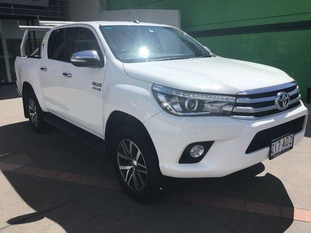 Used Toyota Hilux Caloundra, GUN126R SR5 UTE DOUB 4dr M 6sp 925kg 2.8DT