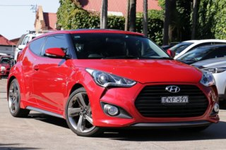 2014 Hyundai Veloster FS MY13 SR Turbo 6 Speed Automatic Coupe.