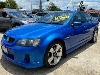 2008 Holden Commodore VE MY09 SS V Blue 6 Speed Manual Sedan.