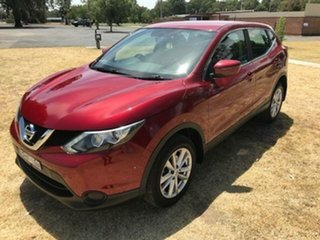 2016 Nissan Qashqai J11 ST Red Continuous Variable Wagon.