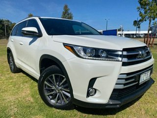 2017 Toyota Kluger GSU55R GXL AWD Pearl White 8 Speed Sports Automatic Wagon.