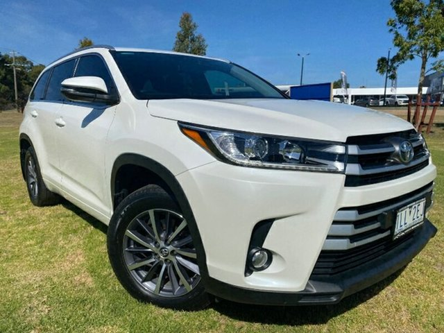 Used Toyota Kluger GSU55R GXL AWD Melton, 2017 Toyota Kluger GSU55R GXL AWD Pearl White 8 Speed Sports Automatic Wagon