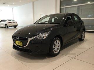 2016 Mazda 2 DJ2HA6 Neo SKYACTIV-MT Black/fab 6 Speed Manual Hatchback