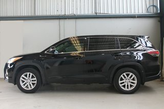 2015 Toyota Kluger GSU55R GX (4x4) Black 6 Speed Automatic Wagon