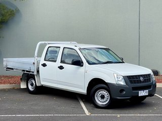 2007 Holden Rodeo RA MY07 DX Crew Cab 4x2 White 5 Speed Manual Utility.