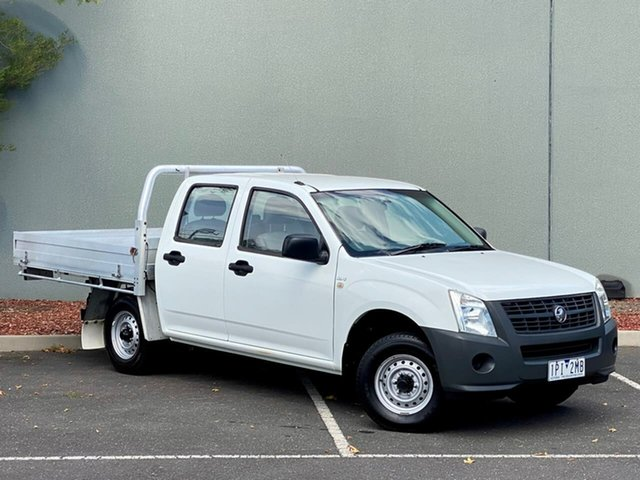 Used Holden Rodeo RA MY07 DX Crew Cab 4x2 Templestowe, 2007 Holden Rodeo RA MY07 DX Crew Cab 4x2 White 5 Speed Manual Utility