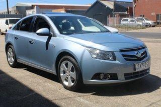 2010 Holden Cruze JG CDX Sky Blue 6 Speed Automatic Sedan.