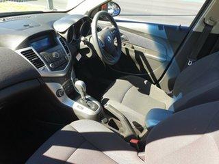 2012 Holden Cruze JH Series II MY12 Equipe Red/Black 6 Speed Sports Automatic Sedan