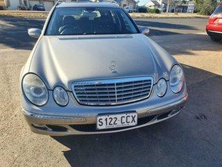 2005 Mercedes-Benz E-Class S211 MY06 E280 Elegance Silver 7 Speed Sports Automatic Wagon.