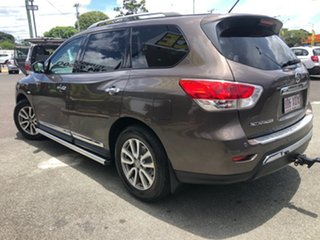 2014 Nissan Pathfinder R52 MY14 ST-L X-tronic 2WD Brown 1 Speed Constant Variable Wagon