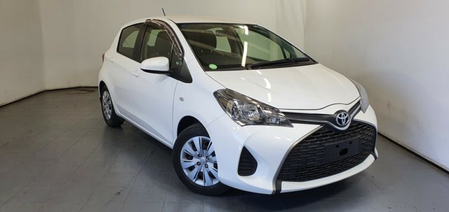Used Toyota Yaris NCP130R Ascent Elizabeth, 2015 Toyota Yaris NCP130R Ascent White 4 Speed Automatic Hatchback