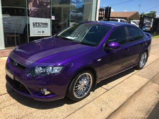 2010 Ford Falcon FG XR6 Purple Sports Automatic.
