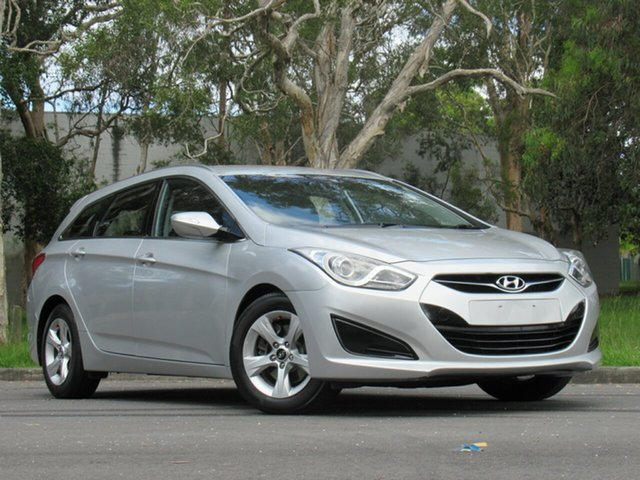 Used Hyundai i40 VF Active Tourer, 2012 Hyundai i40 VF Active Tourer Silver 6 Speed Sports Automatic Wagon