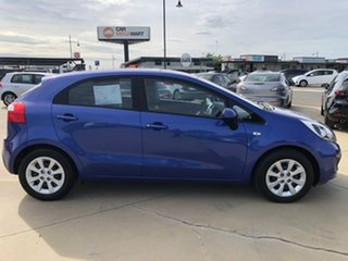 2013 Kia Rio UB S Blue Sports Automatic Hatchback.