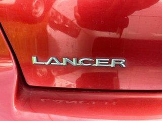 2008 Mitsubishi Lancer CJ MY08 VR Red 5 Speed Manual Sedan