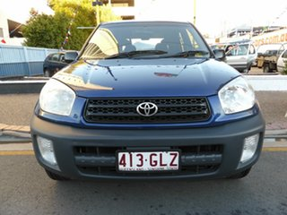 2001 Toyota RAV4 ACA21R Edge (4x4) Blue 4 Speed Automatic 4x4 Wagon
