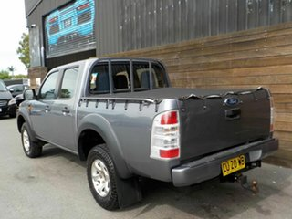 2009 Ford Ranger PK XL Crew Cab 4x2 Hi-Rider Grey 5 Speed Manual Utility