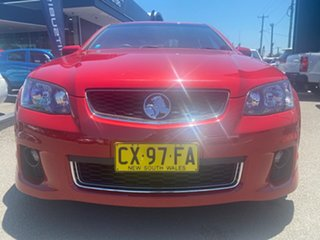 2011 Holden Commodore VE II SV6 Red 6 Speed Sports Automatic Sedan.