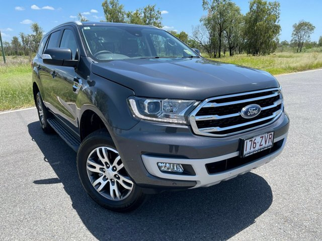 Used Ford Everest UA II 2020.75MY Trend Emerald, 2020 Ford Everest UA II 2020.75MY Trend Meteor Grey 10 Speed Sports Automatic SUV