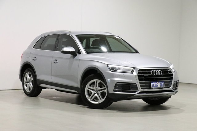 Used Audi Q5 FY MY17 2.0 TDI Quattro Design Bentley, 2017 Audi Q5 FY MY17 2.0 TDI Quattro Design Silver 7 Speed Auto S-Tronic Wagon