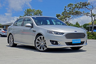 2014 Ford Falcon FG X G6E Turbo Silver 6 Speed Sports Automatic Sedan.