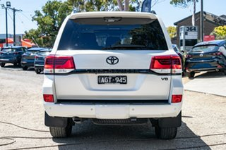 2015 Toyota Landcruiser VDJ200R VX White 6 Speed Sports Automatic Wagon