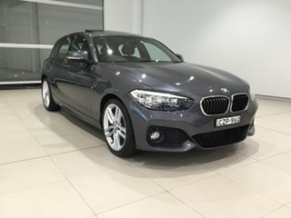 2015 BMW 1 Series F20 LCI 120i Steptronic Sport Line Grey 8 Speed Sports Automatic Hatchback.