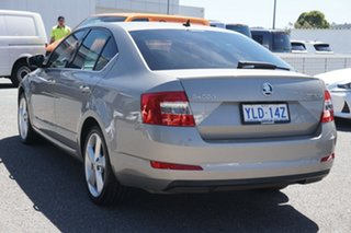 2014 Skoda Octavia NE MY14 Elegance Sedan DSG 132TSI Beige 7 Speed Sports Automatic Dual Clutch