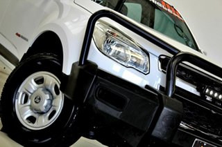 2016 Holden Colorado RG MY16 LS (4x4) White 6 Speed Automatic Crew Cab Chassis.