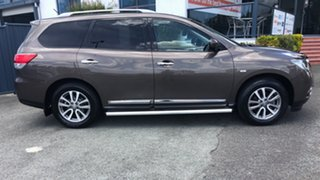 2014 Nissan Pathfinder R52 MY14 ST-L X-tronic 2WD Brown 1 Speed Constant Variable Wagon.