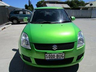 2010 Suzuki Swift EZ 07 Update Green 4 Speed Automatic Hatchback.