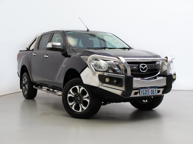 Used Mazda BT-50 MY16 XTR (4x4), 2016 Mazda BT-50 MY16 XTR (4x4) Blue 6 Speed Manual Dual Cab Utility