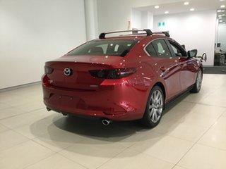 2020 Mazda 3 BP2S7A G20 SKYACTIV-Drive Evolve Soul Red 6 Speed Sports Automatic Sedan.