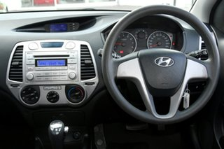 2012 Hyundai i20 PB MY12 Active Red 4 Speed Automatic Hatchback