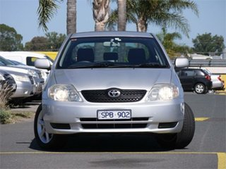 2003 Toyota Corolla ZZE122R Conquest Silver Automatic Hatchback.