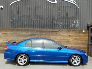 2004 Holden Commodore VZ SV6 Blue 6 Speed Manual Sedan.