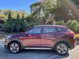2017 Hyundai Tucson TL MY18 Active X 2WD Ruby Wine 6 Speed Sports Automatic Wagon