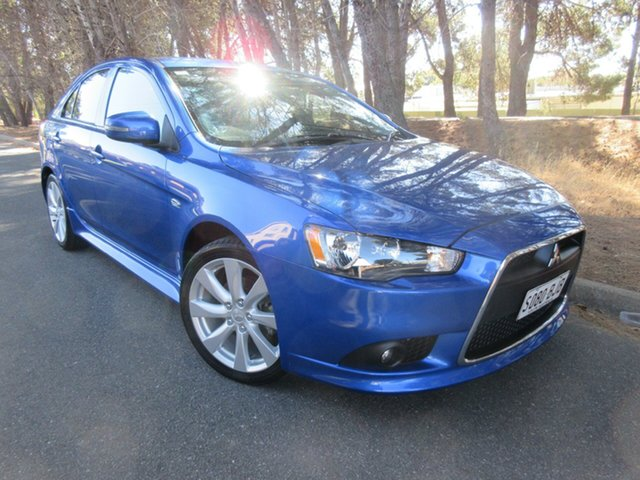 Used Mitsubishi Lancer CJ MY15 GSR Sportback Reynella, 2015 Mitsubishi Lancer CJ MY15 GSR Sportback Blue 5 Speed Manual Hatchback