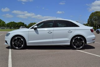 2014 Audi A3 8V MY15 Attraction S Tronic White 7 Speed Sports Automatic Dual Clutch Sedan