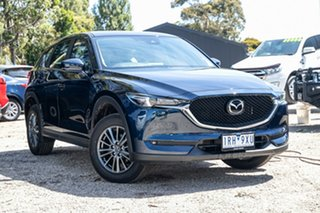 2020 Mazda CX-5 KF4WLA Maxx SKYACTIV-Drive i-ACTIV AWD Sport Blue 6 Speed Sports Automatic Wagon.