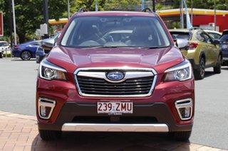 2020 Subaru Forester S5 MY20 Hybrid S CVT AWD Crimson Red 7 Speed Constant Variable Wagon Hybrid