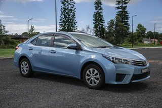 2014 Toyota Corolla ZRE172R Ascent S-CVT Blue 7 Speed Constant Variable Sedan